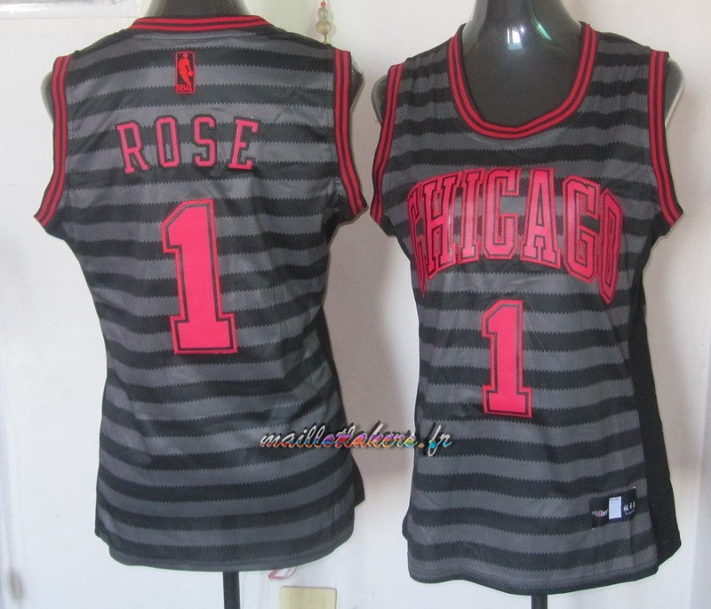 Maillot NBA Femme Groove Fashion NO.1 Derrick Rose Pas Cher