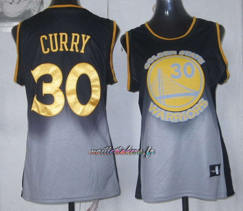 Maillot NBA Femme Retentisse Fashion NO.30 Stephen Curry Pas Cher