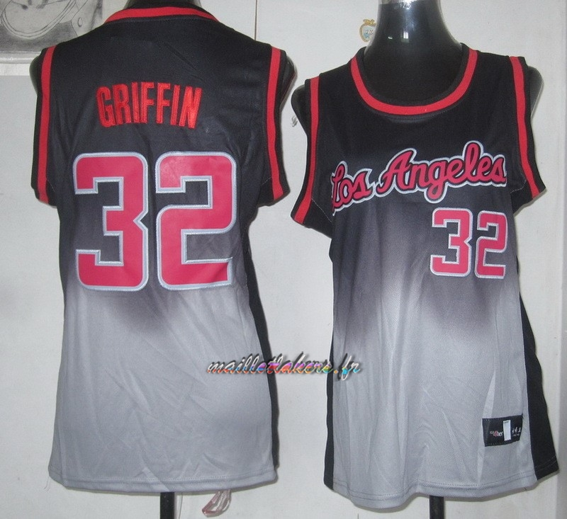 Maillot NBA Femme Retentisse Fashion NO.32 Blake Griffin Pas Cher