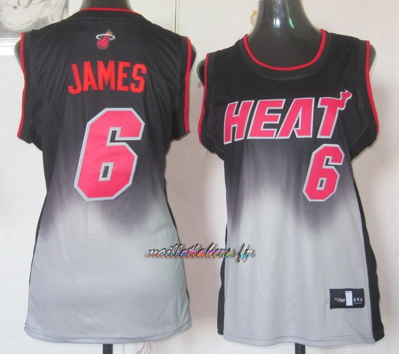 Maillot NBA Femme Retentisse Fashion NO.6 LeBron Jamese Pas Cher
