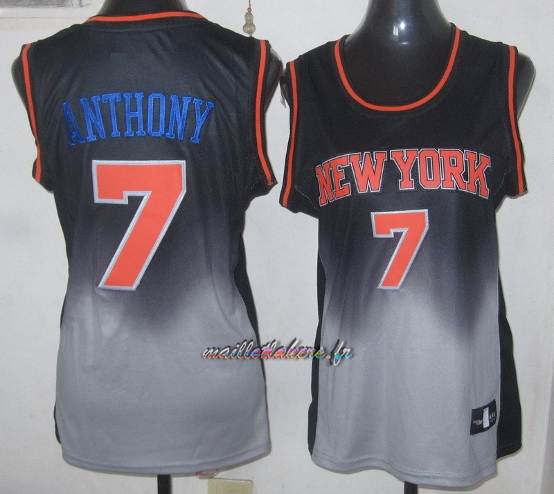 Maillot NBA Femme Retentisse Fashion NO.7 Carmelo Anthony Pas Cher